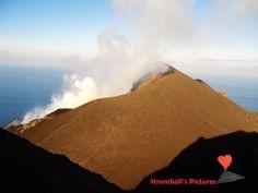 The #volcano #Stromboli.