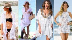 Feirinha Chic : Saídas de praia e piscina - Opções lindas para o v...