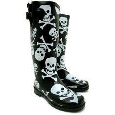 ironfist zombie rain boots