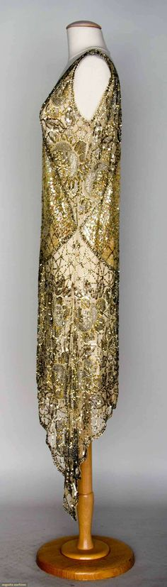Silver Sequined Party Dress, 1920s, Augusta Auctions, November 13, 2013 - NYC