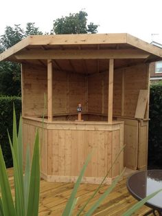 Large DELUXE + corner garden bar entertaining pub area redwood shiplap is part of Corner garden Shed - Pool Bar, Patio Bar, Outdoor Garden Bar, Diy Garden Bar, Deck Bar, Balcony Bar, Diy Outdoor Bar, Backyard Bar, Backyard Landscaping