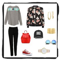 """""""paseo ciudad"""" by maria-l-v on Polyvore featuring moda, Dolce&Gabbana, New Look, Converse, Ivy Park, Blue Nile, Kate Spade y Forever 21"""