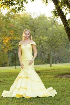 Gown from #GlitzNash @GlitzNash (Adam Sanner Photography) (Hair Kyle Kressin; MUA Tara Thomas; Model Kiley Kaye) (Wilson Family Farm, Tennessee) http://glitznashville.com