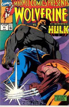 Wolverine - Versus - The Incredible Hulk - X-ray Comics - Wolverine Vs Hulk