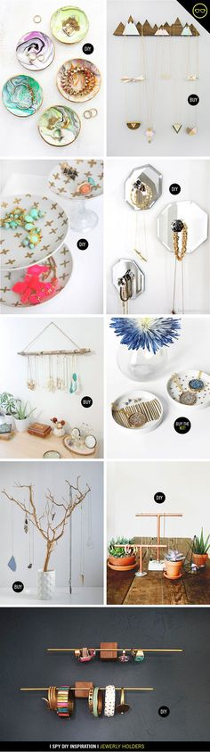 INSPIRATION | Jewelry Holders