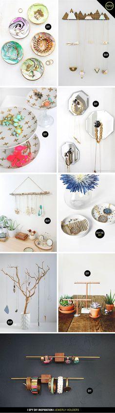 INSPIRATION | Jewelry Holders (via Bloglovin.com )