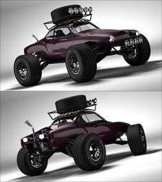 Baja Ghia - holy crap! Why would you ever do this to one of the neatest cars ever?  Absolutely NO!!!