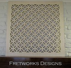 Sybaritic Spaces: Create Fabulous Fretwork Doors