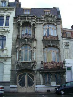 Roubaix (59), 16 Boulevard du Général Leclerc – Architecte Emile Dervaux, 1904 | par Yvette Gauthier