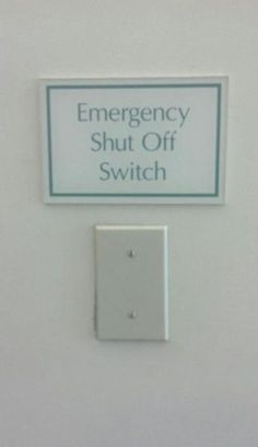 emergency switch fail