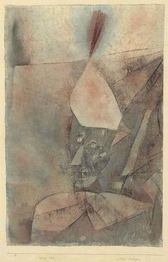 Alter krieger by PAUL KLEE 1929