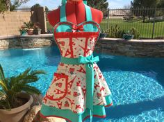 Sassy French Chic Apron with Ruffles Womens by sassyapron on Etsy