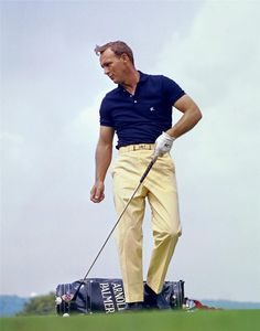 Arnold Palmer 1965 Color Photo U s Open PGA Pro Golf Legend Masters Champion | eBay