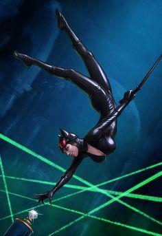 Catwoman by *DmitryGrebenkov on deviantART