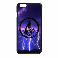 Divergent Dauntless The Brave Logo 2 iPhone 6 Case