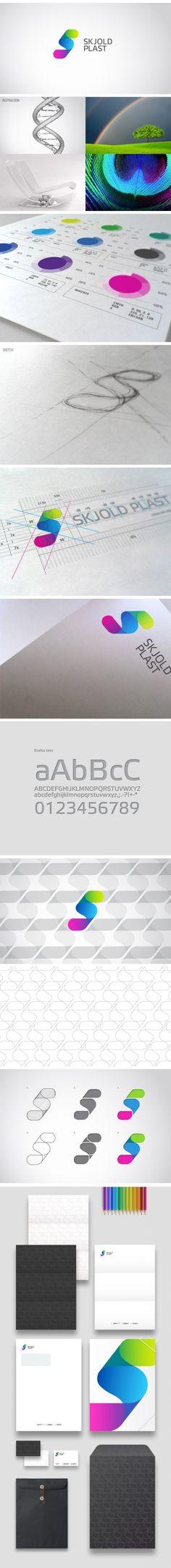 SKJOLD PLAST   #corporate #branding #creative #logo #personalized #identity #design #corporatedesign < repinned by www.BlickeDeeler.de   Have a look on www.LogoGestaltung-Hamburg.de