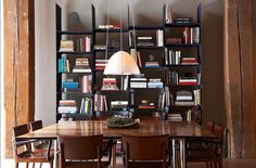 Do You Display Books in Your Dining Room?
