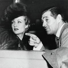 Clark Gable and Carole Lombard, 1941