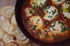 Rustic Tomato and Fresh Mozzarella Dip with Parmesan Crostinis