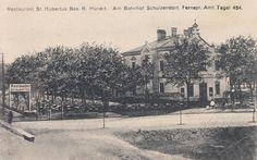 Restaurant St. Hubertus, Am Bahnhof Schulzendorf Um 1900/1910