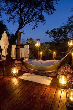 Honeymoon - Beautiful wedding destination in Botswana. Via Harper's Bazaar