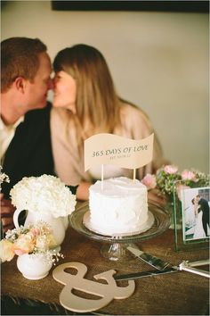 First Year Wedding Anniversary Photos - KnotsVilla