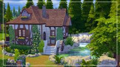 Belle's Cottage at Akai Sims via Sims 4 Updates Check more at http://sims4updates.net/lots/belles-cottage-at-akai-sims/