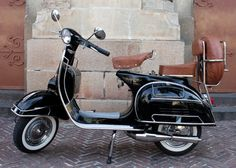Vespa Scooters - are all the rage throughout European cities