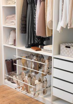 Nem tudo precisa de ser igual! Inspire-se em vários estilos de closets e crie o seu próprio estilo! Seja original!! #closetideas