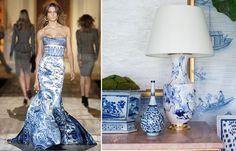Os azulejos portugueses estão com tudo, na moda e no décor. Veja mais: http://www.casadevalentina.com.br/blog/detalhes/moda-+-decor--porcelain-print--3009  decor #decoracao #interior #design #casa #home #house #idea #ideia #detalhes #details #style #estilo #casadevalentina #moda #fashion #porcelain #porcelana