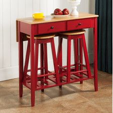 Drop leaf, and drawers ideas for kitchen table ~!~