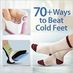 Beat cold feet with over 70 products at FootSmart such as thick socks, hot/cold therapies, massagers, foot baths and more.