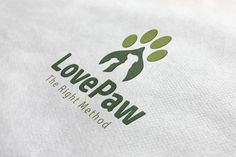 Love Paw Logo by ArtFusion on @creativemarket