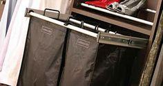 Zona de clasificación de la ropa sucia
