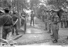6 Bttn Royal Australian Regiment  26 July 67  memorial for fallen comrades prior to leaving for home