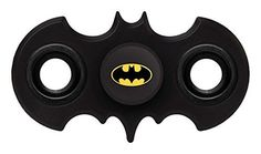 It's time to spin with your favourite Superhero - Batman! The fidget spinning craze has taken the World by storm and now you can master your spin technique with your very own bat shaped spinner. S