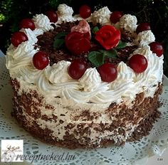 Érdekel a receptje? Cake Decorating For Beginners, Cold Desserts, Love Cake, Creative Cakes, Amazing Cakes, Oreo, Pudding, Candy, Sweet