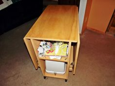 Lovely Sewing Table For Small Spaces This Is Awesome. The DH Needs To Start Making  One