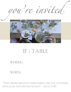 The images and stories from IF:Table gatherings across the country last month were beautiful. Deep conversations and authentic connections resulted in Jesus-centered community. While we continue to celebrate that gift,...