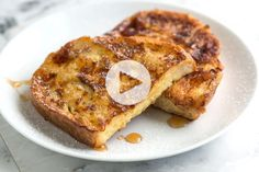Easy Hummus Recipe (Better Than Store-Bought) Seriously Good French Toast Recipe and Video Awesome French Toast Recipe, Perfect French Toast, Oven Baked Ribs, Pumpkin Scones, Spiced Pumpkin, Hummus Recipe, Tahini Recipe, Thing 1, Dessert