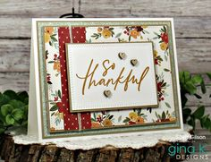 Paper Strips, Thanksgiving Cards, Fall Cards, Wooden Hearts, Hello Autumn, Pattern Paper, Design Projects, Card Making, Stamp