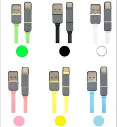 Best Annons p Tradera Meter Multikabel till iPhone och Micro USB BL