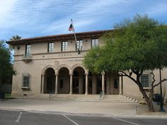 Old Post Office Yuma - Gather up all those family photos and identify those in them to help your #family_researchers in future times, and get them online in your own #Genealogy_website!