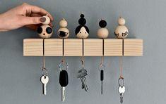 19 Diy Key Holder ideas, the most adorable ideas - Diy & Decor Selections