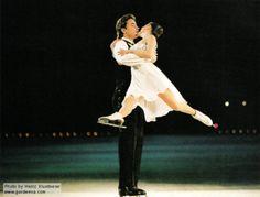 Married and Inspirational Iceskating couple sergei grinkov and ekaterina gordeeva. RIP Sergi.