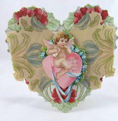 Valentine Antique Victorian 1910