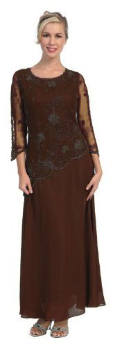 Mother of the Bride Formal Evening Dress #454 (Large, Brown) US Fairytailes,http://www.amazon.com/dp/B002HCNMY0/ref=cm_sw_r_pi_dp_z1Odtb1VH70WWPDJ