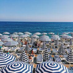 Nice, France stripes