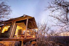 Geniet 'n safariwegbreek by Bushwa Game Lodge in die Waterberg-biosfeer. Game Lodge, Places To Visit, Cabin, House Styles, Water, Instagram, Home Decor, Gripe Water, Decoration Home