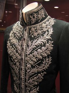 Detail of one of Rupert Friend's (as Prince Albert) costumes from The Young Victoria.